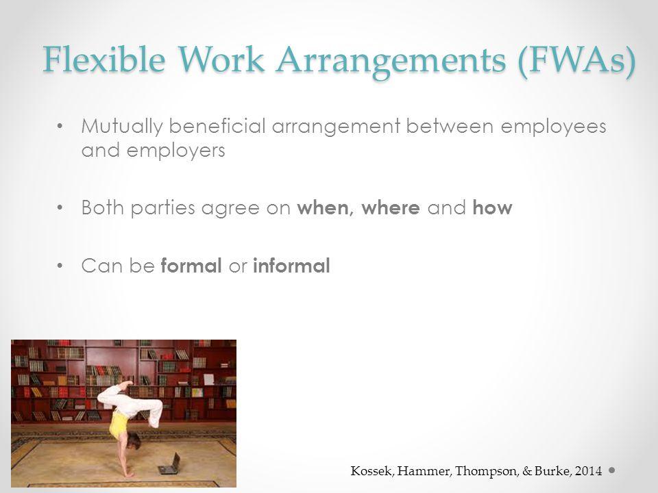 Flexible Work Arrangements (FWAs)