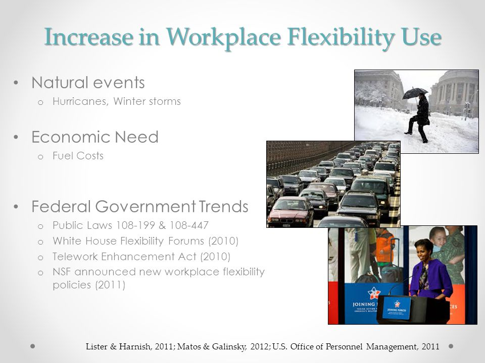 Increase in Workplace Flexibility Use