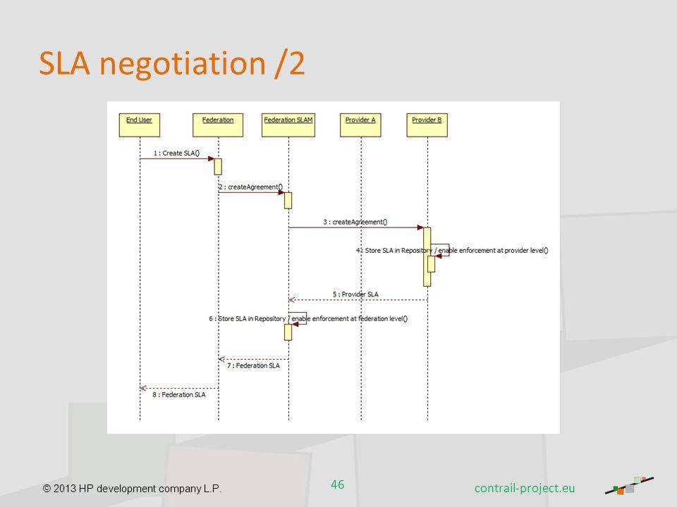 SLA negotiation /2 contrail-project.eu