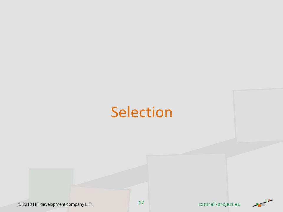 Selection contrail-project.eu