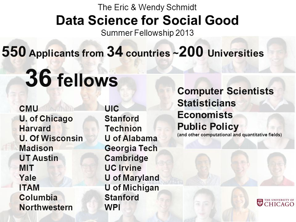 Data Science for Social Good
