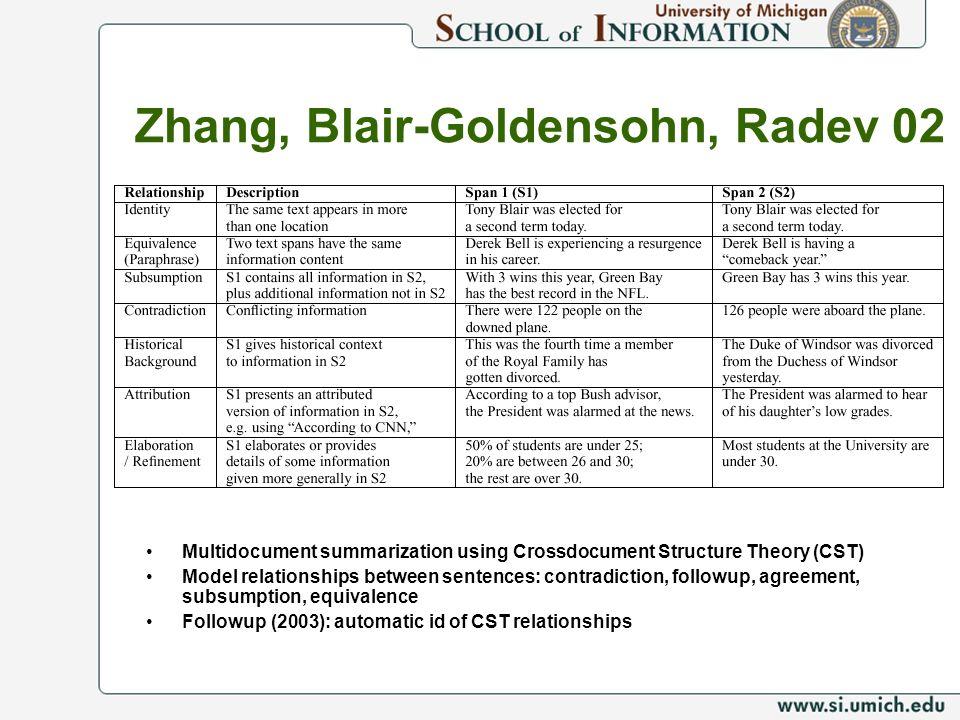 Zhang, Blair-Goldensohn, Radev 02