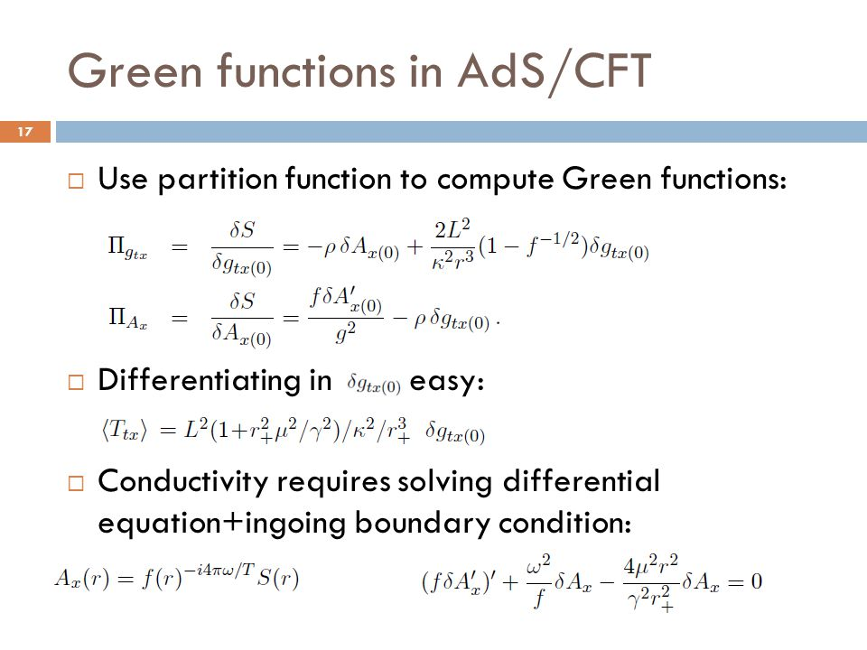 Green functions in AdS/CFT