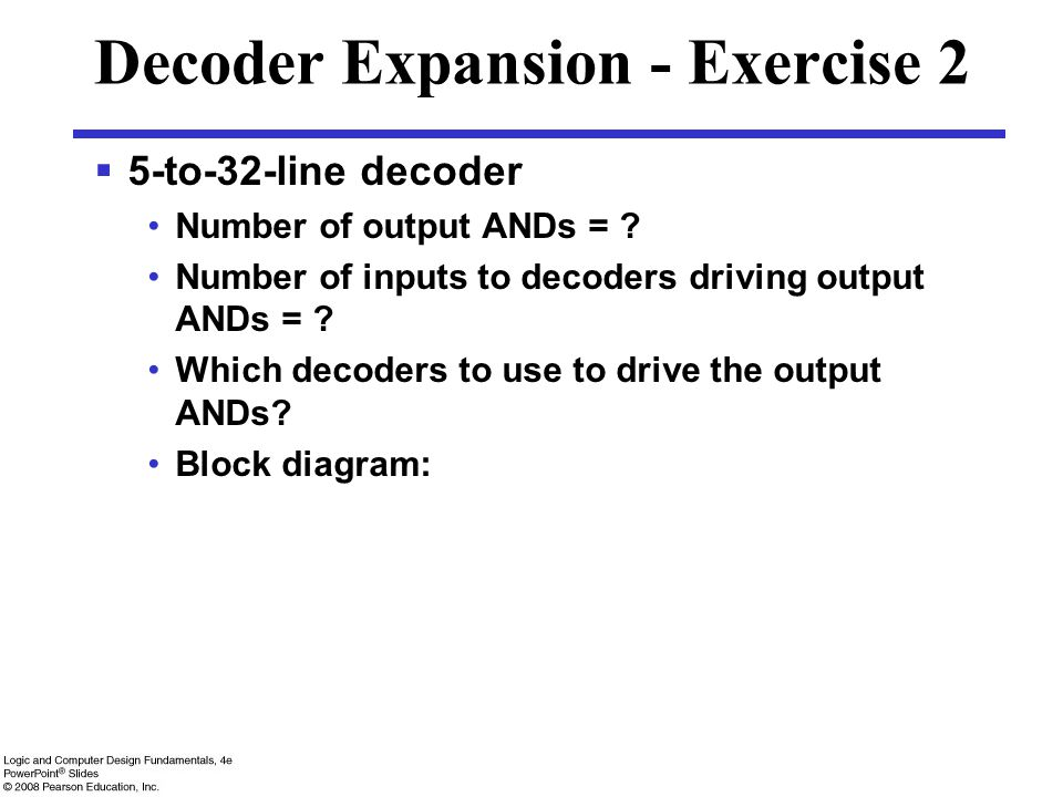 Decoder Expansion - Exercise 2