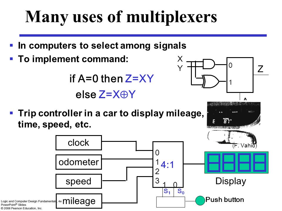 Many uses of multiplexers