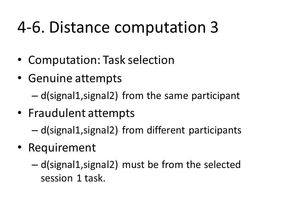 4-6. Distance computation 3