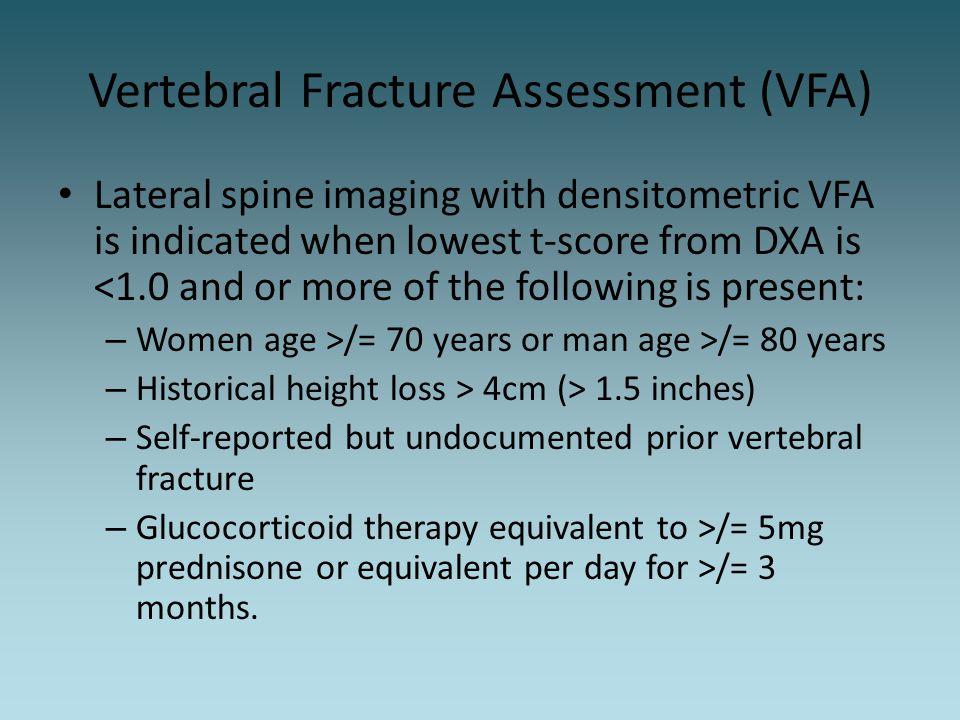 Vertebral Fracture Assessment (VFA)