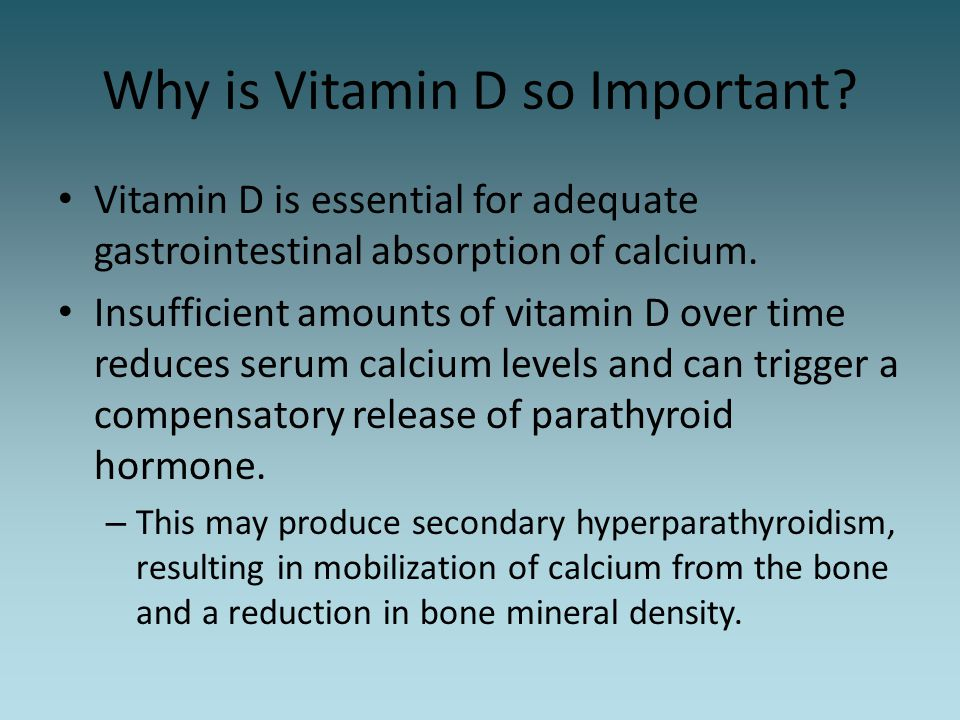 Why is Vitamin D so Important