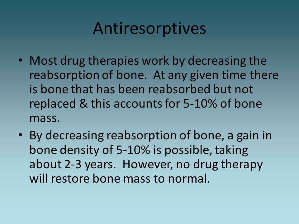 Antiresorptives