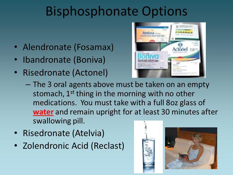 Bisphosphonate Options