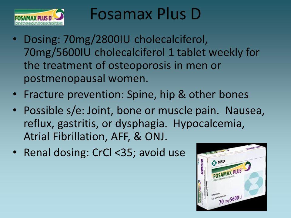 Fosamax Plus D