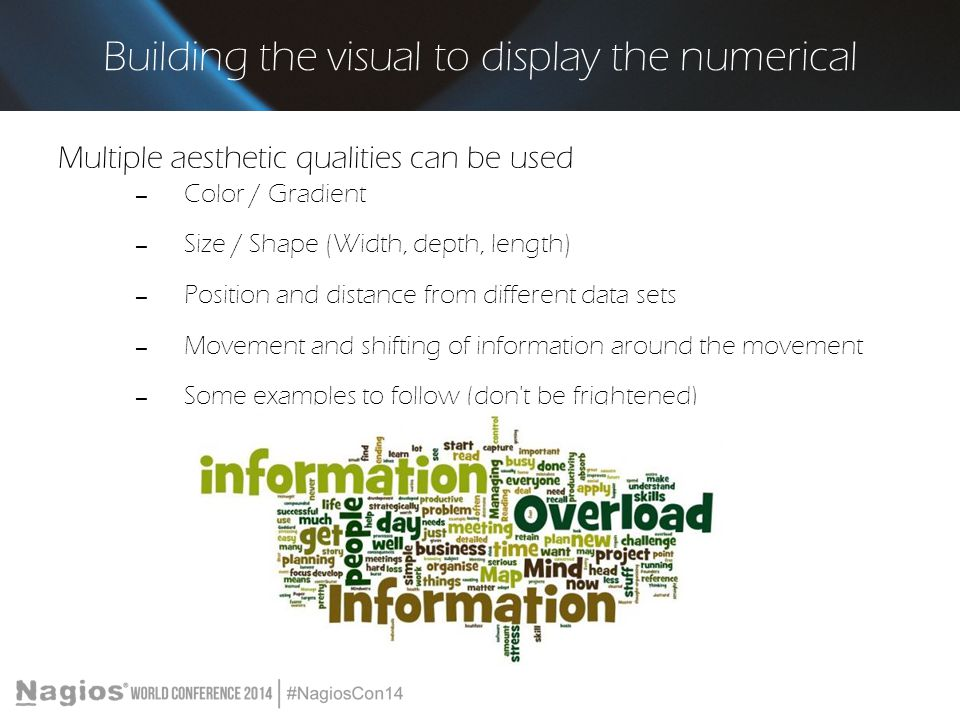 Building the visual to display the numerical