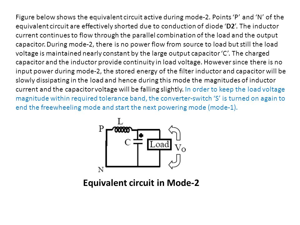 Equivalent circuit in Mode-2