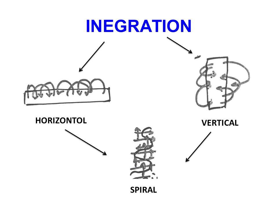 INEGRATION HORIZONTOL VERTICAL SPIRAL
