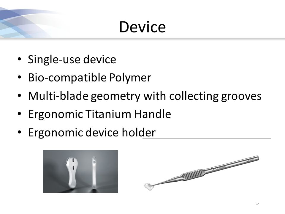 Device Single-use device Bio-compatible Polymer