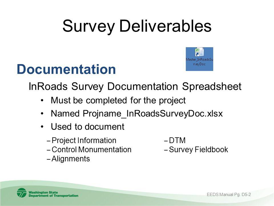 Survey Deliverables Documentation