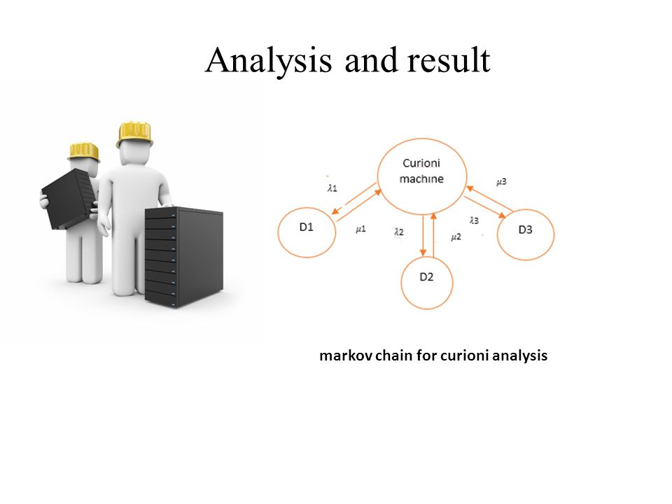 markov chain for curioni analysis