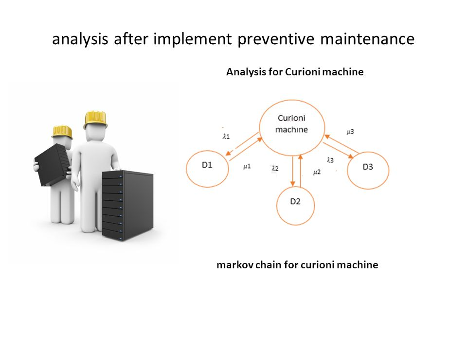 analysis after implement preventive maintenance