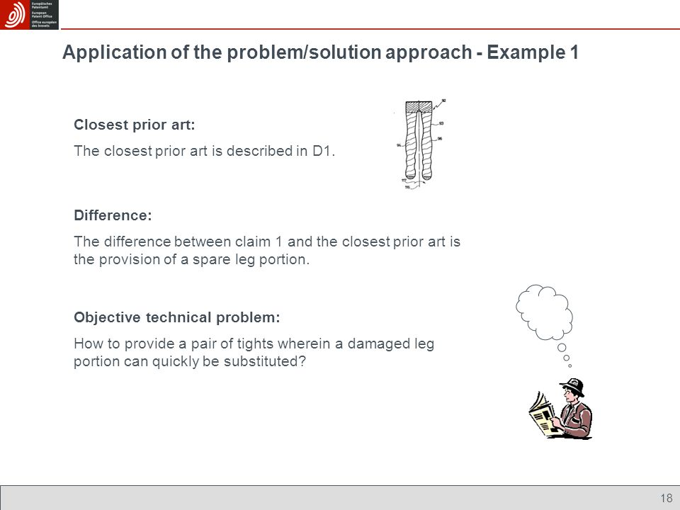 Application of the problem/solution approach - Example 1