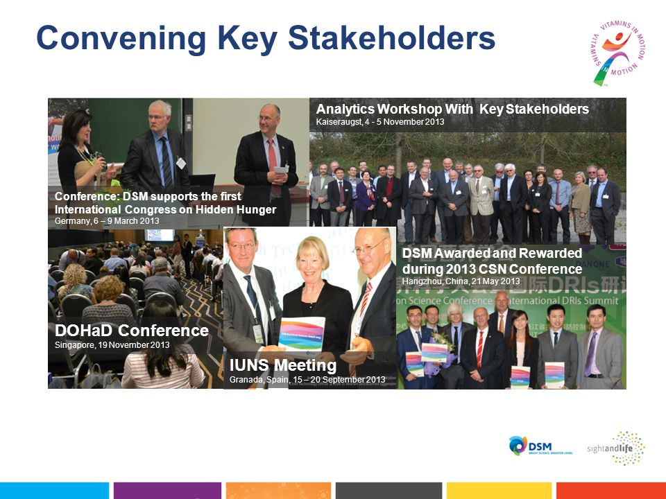 Convening Key Stakeholders