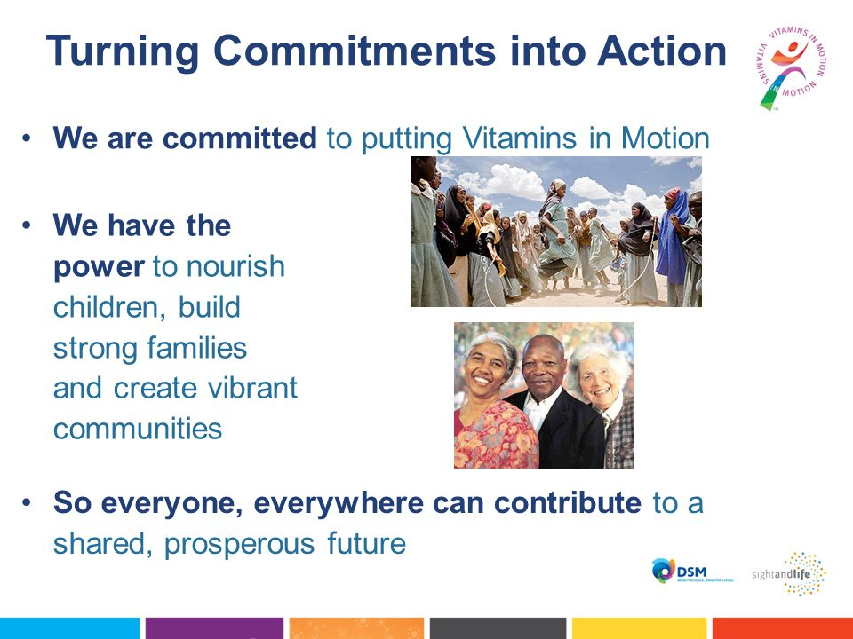 Turning Commitments into Action