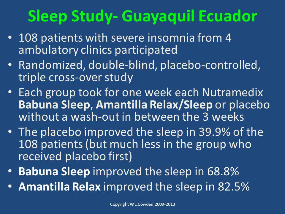 Sleep Study- Guayaquil Ecuador