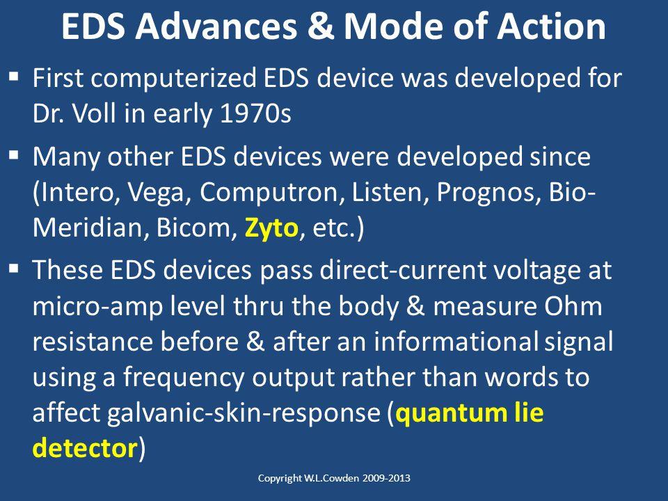 EDS Advances & Mode of Action