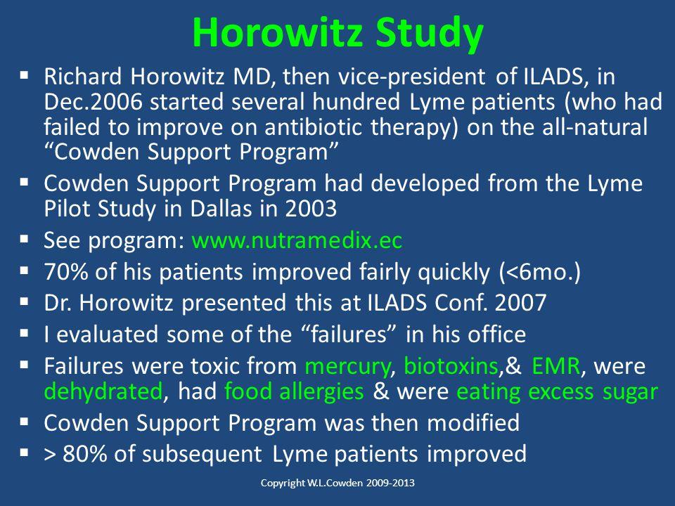 Horowitz Study