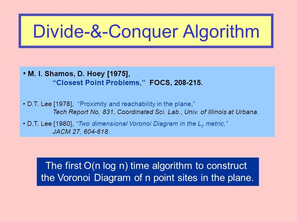 Divide-&-Conquer Algorithm