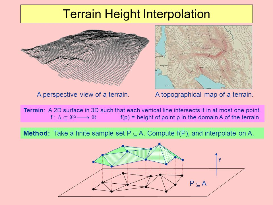 Terrain Height Interpolation