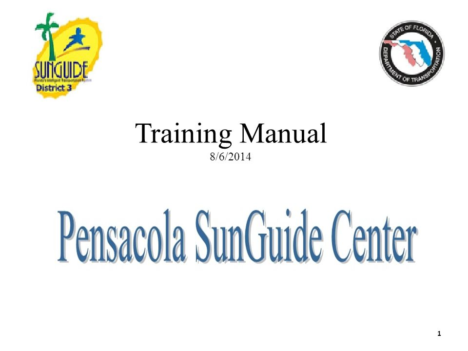 Training Manual 8/6/2014