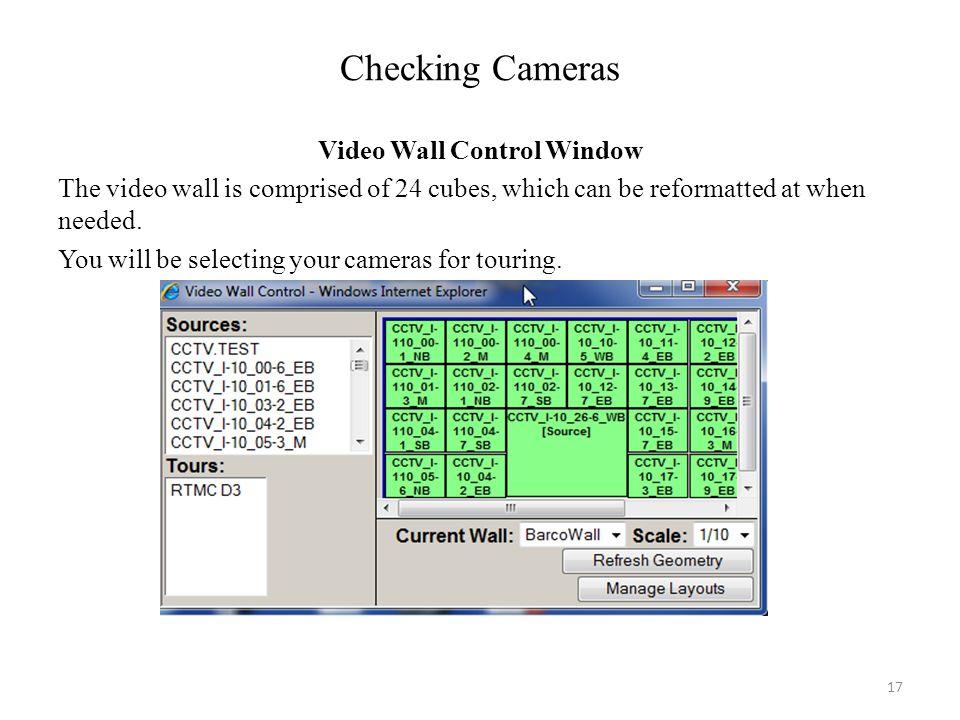 Checking Cameras