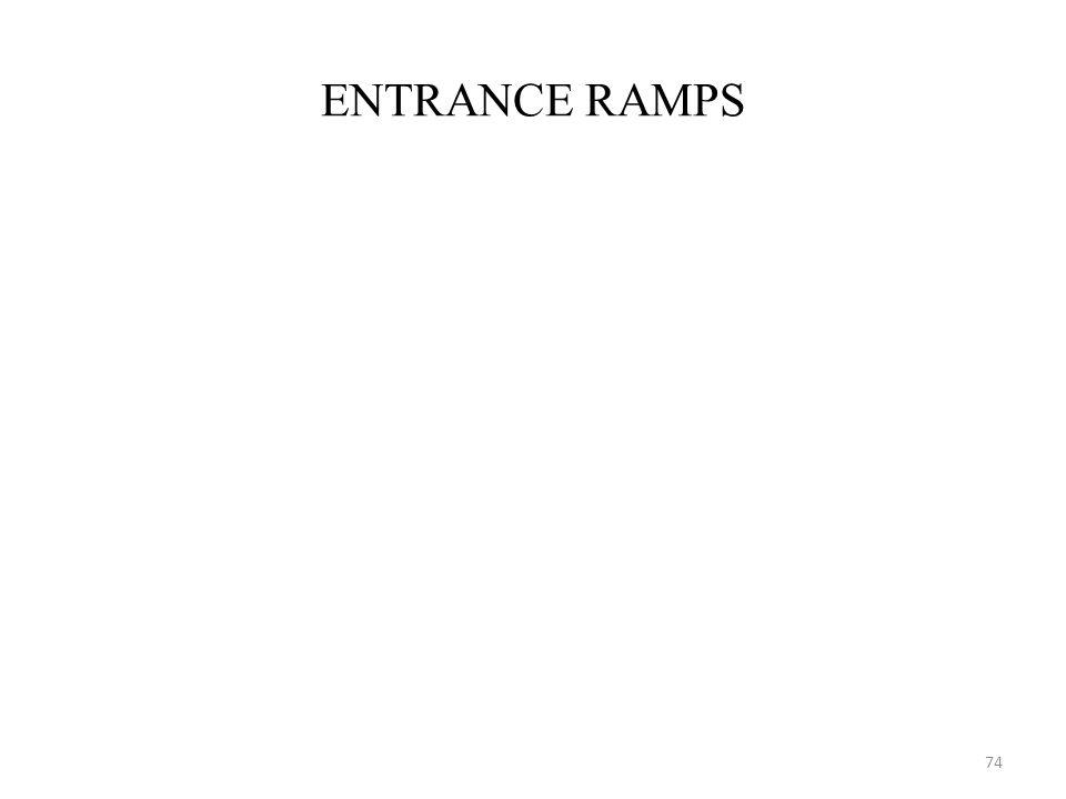 ENTRANCE RAMPS