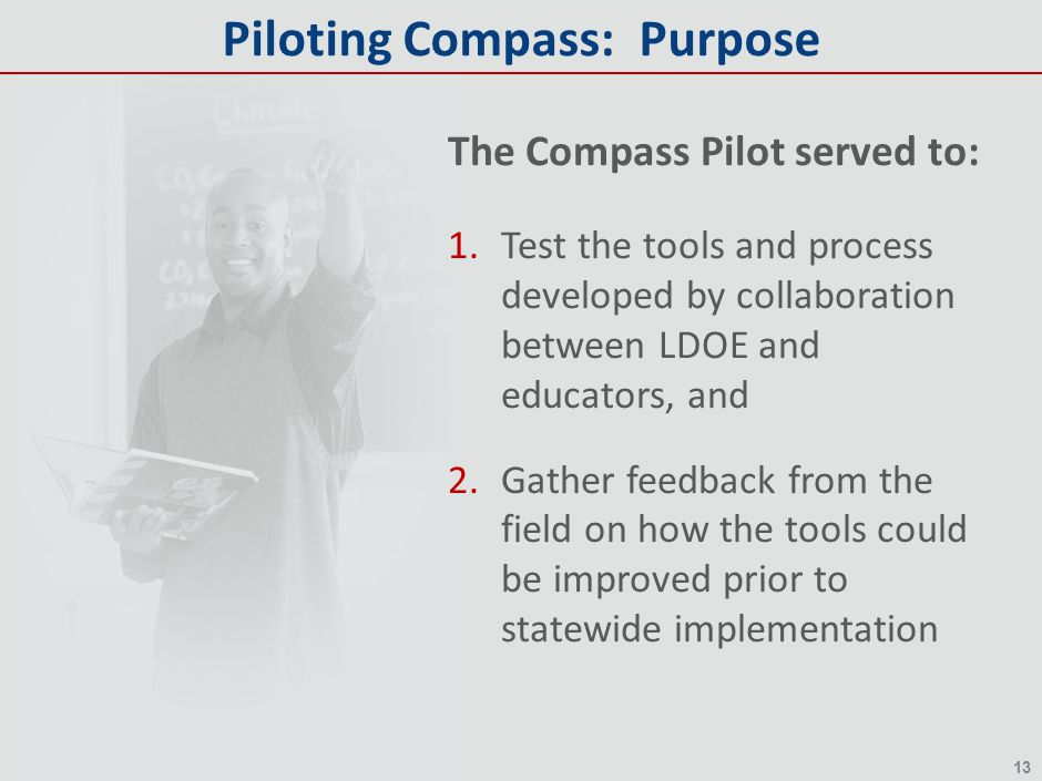 Piloting Compass: Purpose