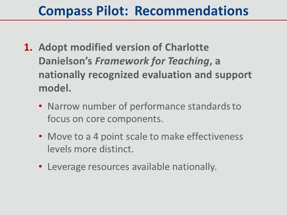 Compass Pilot: Recommendations