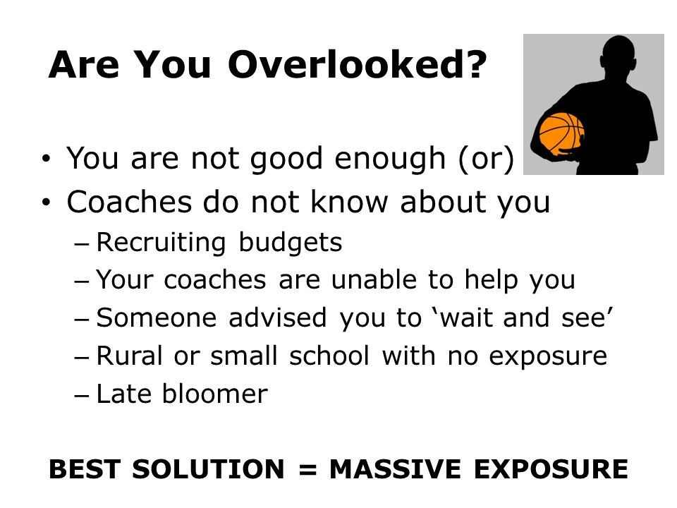 BEST SOLUTION = MASSIVE EXPOSURE