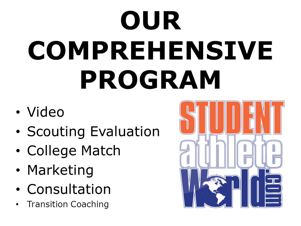 OUR COMPREHENSIVE PROGRAM