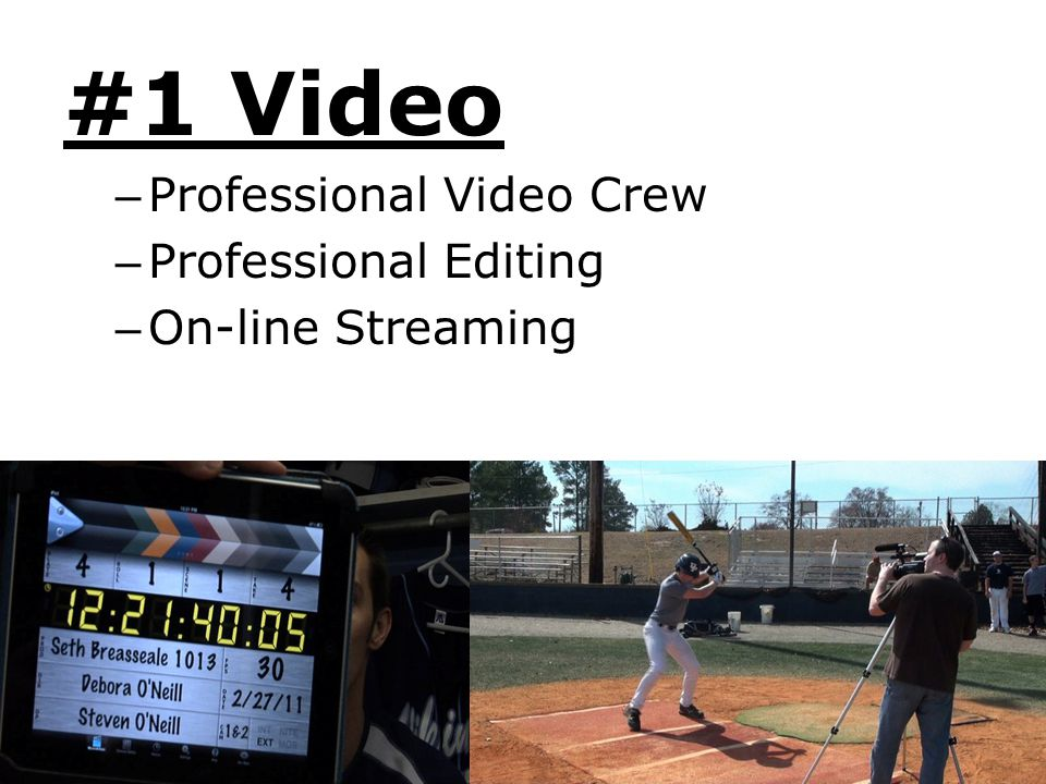 #1 Video Professional Video Crew Professional Editing