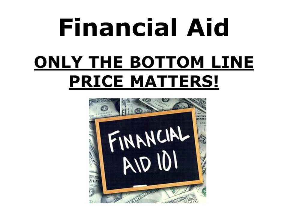 ONLY THE BOTTOM LINE PRICE MATTERS!