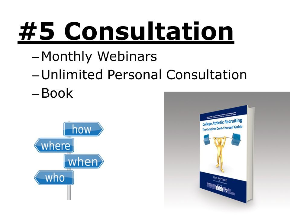 #5 Consultation Monthly Webinars Unlimited Personal Consultation Book
