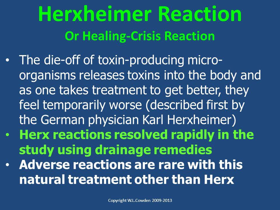 Or Healing-Crisis Reaction