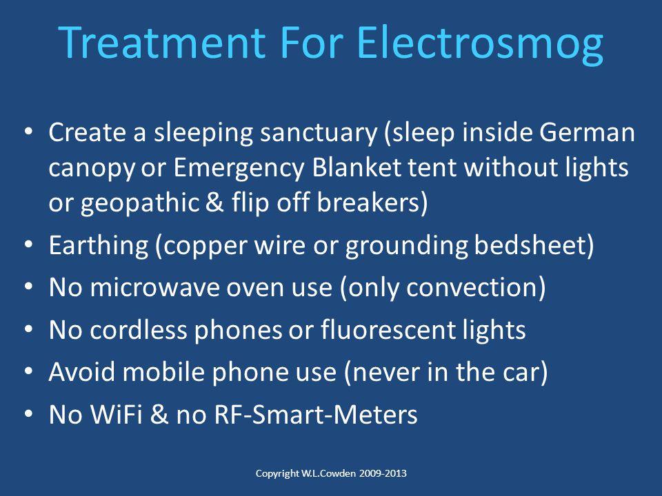 Treatment For Electrosmog