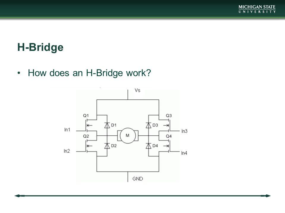 H-Bridge How does an H-Bridge work