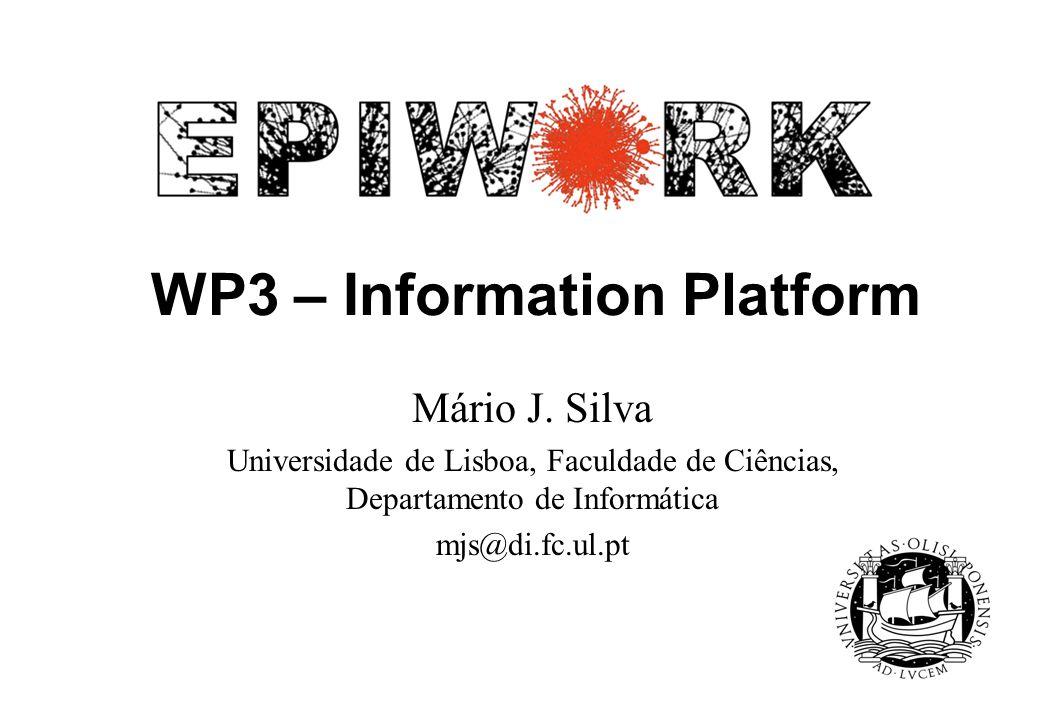 WP3 – Information Platform