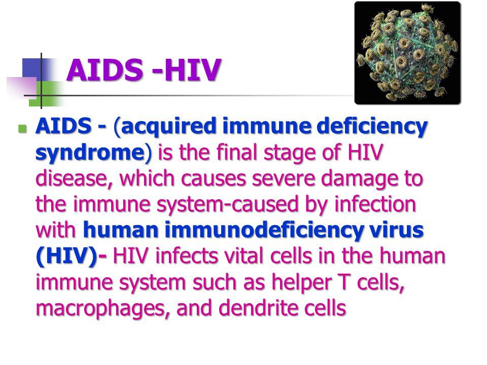 AIDS -HIV
