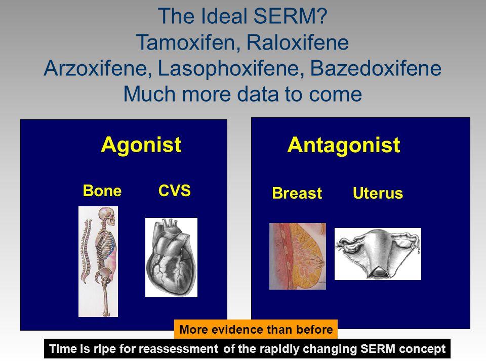 Arzoxifene, Lasophoxifene, Bazedoxifene Much more data to come
