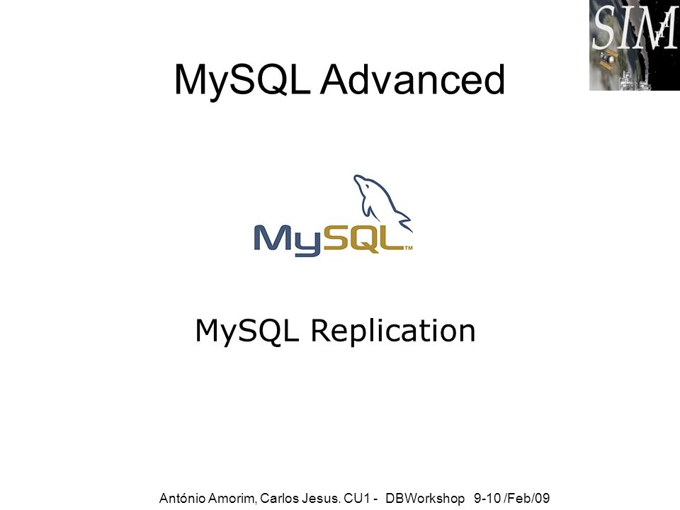 MySQL Advanced MySQL Replication
