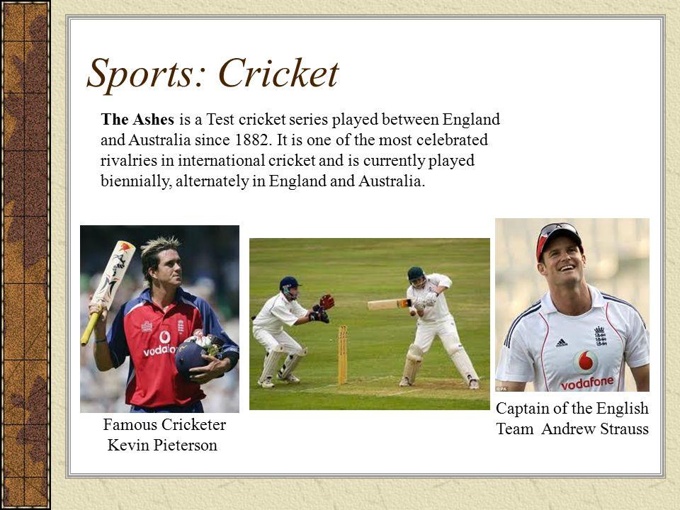 Sports: Cricket