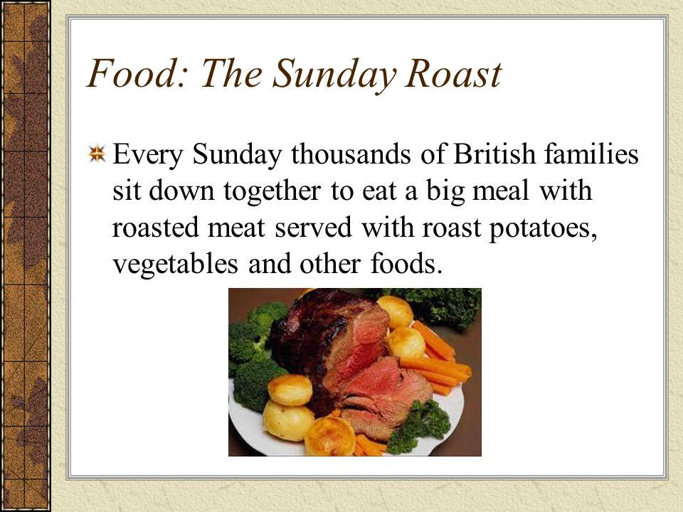 Food: The Sunday Roast