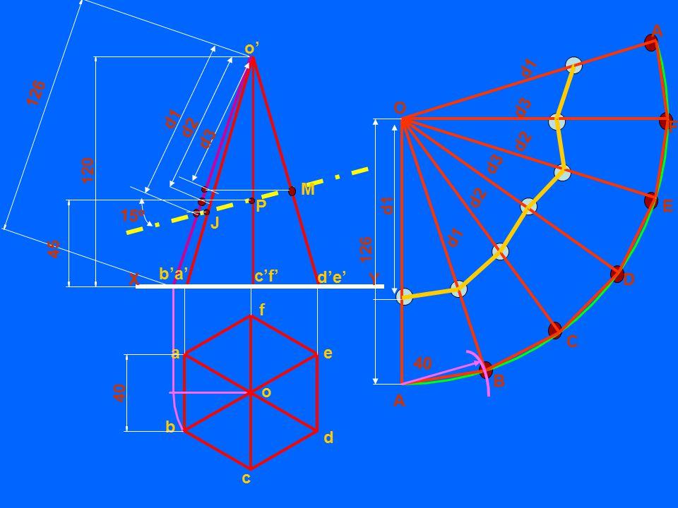 126 A. b'a' c'f' d'e' o' d1. 45. d2. 120. d1. d3. O. d3. F. 126. d1. d2. d3. M. d2.